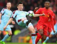 АПЛ: «Ливерпуль» обыграл «Бернли» и закрепился в топ-4