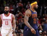 НБА: «Хьюстон» бьет «Кливленд», победы «Бостона» и «Индианы»