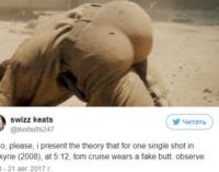 Фанаты обвинили Тома Круза в «ношении фейковых ягодиц»