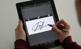 НБУ урегулировал применение электронной подписи в банковской системе