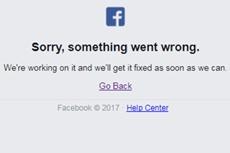 В работе Facebook произошел глобальный сбой