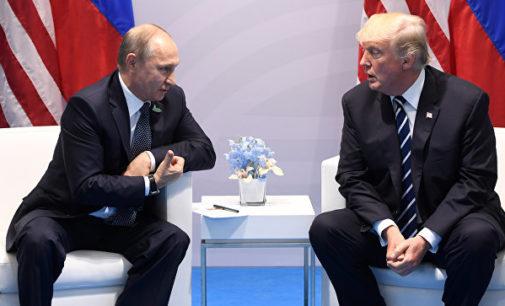 Путин заявил, что Трамп ему «не невеста»