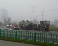 Россияне развеселили курьезным ДТП с участием военных