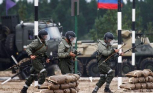 Первая фаза военных учений «Запад-2017» завершится 16 сентября