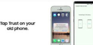 Samsung показала, как быстро перейти со старого iPhone на Galaxy Note8