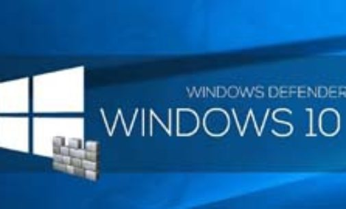 Как включить автономного защитника Windows 10