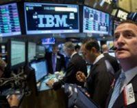 Акции IBM показали сильнейший рост за восемь лет