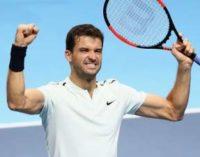 Димитров вслед за Федерером вышел в полуфинал Итогового турнира