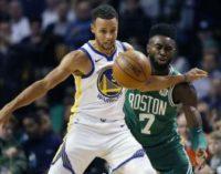 НБА: «Бостон» обыграл «Голден Стейт», «Хьюстон» поиздевался над «Финиксом»