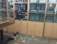 На Кировоградщине поймали мужчину, который хотел обокрасть ювелирный магазин