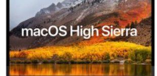 Apple выпустила вторую бета-версию macOS High Sierra 10.13.3