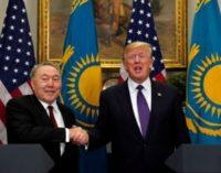 Назарбаев попросил помощи у США от посягательств России на территориальную целостность Казахстана
