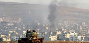 СМИ сообщили о вхождении в Сирию турецких танков