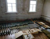 В зоне АТО обнаружили схрон с боеприпасами и оружием