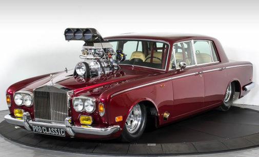 Rolls-Royce с панелями для шампанского уже в продаже