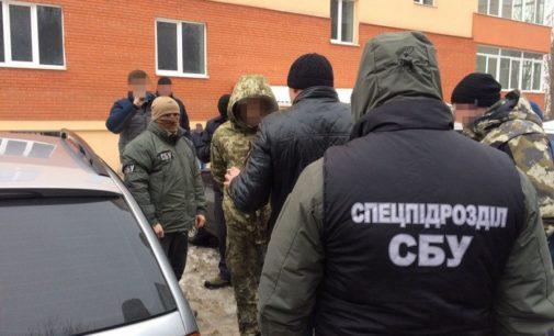 В Хмельницком разоблачила пограничника-наркоторговца