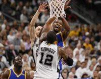НБА: «Голден Стейт» вновь обыграл «Сан-Антонио», «Майами» остановил «Филадельфию»