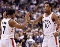НБА: «Торонто», «Бостон» и «Нью-Орлеан» повели 2:0 в сериях плей-офф