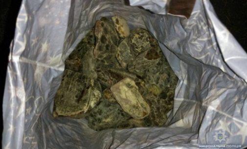 На Ровенщине изъяли 54 кг «солнечного» камня
