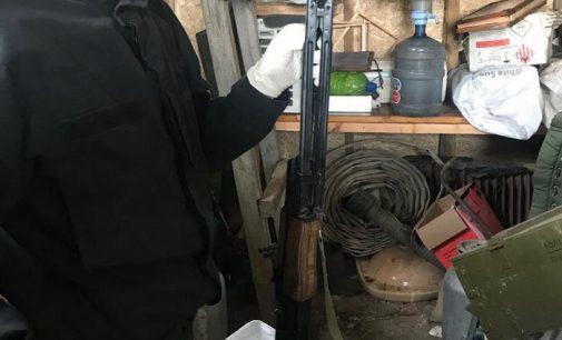 На Киевщине изъяли оружие, ввезенное из зоны АТО