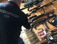 В Одессе изъяли большое количество оружия и боеприпасов