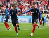 ЧМ-2018: Франция обыграла Перу и квалифицировалась в плей-офф