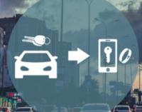 Смартфон становится ключом от автомобиля