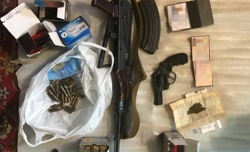 На Херсонщине обнаружили оружие и боеприпасы