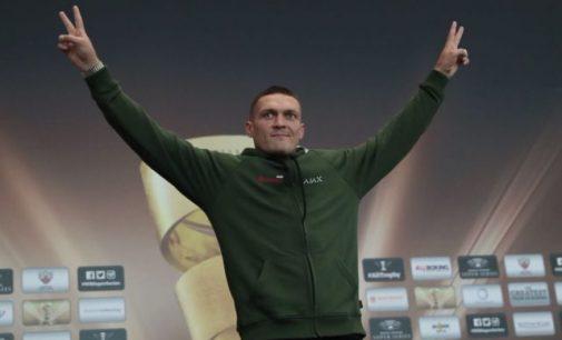 Усик о финале WBSS: «Если сказать прямо, это финал Лиги чемпионов, только по боксу»