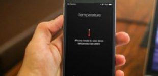 iPhone понижает максимальную яркость экрана и тормозит при перегреве