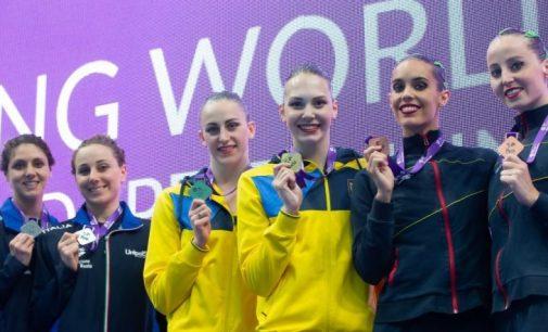 Украинские синхронистки выиграли золото на ЧМ