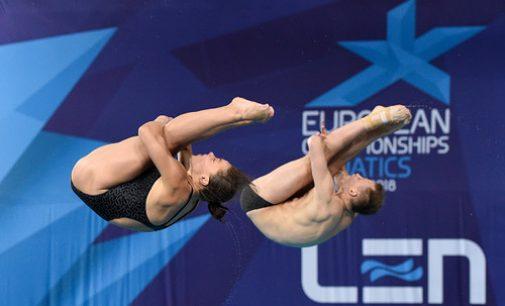 Украина выиграла «золото» на ЧЕ по прыжкам в воду