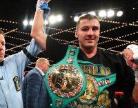 Гвоздик получил именной перстень от Всемирного боксерского совета