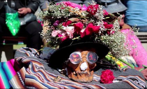 В Боливии отпраздновали День черепов