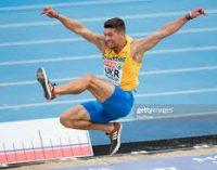 Украинский спортсмен победил в прыжках в длину