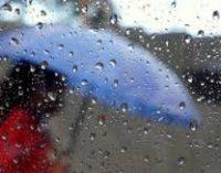 В Украине новая неделя начнется с дождей